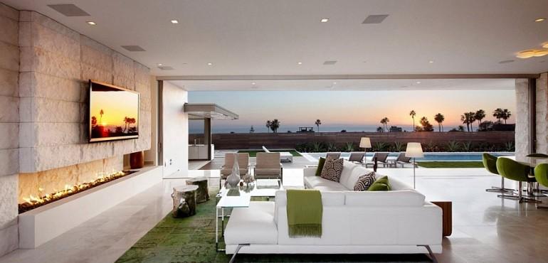 Калифорнийский дом с видом на океан