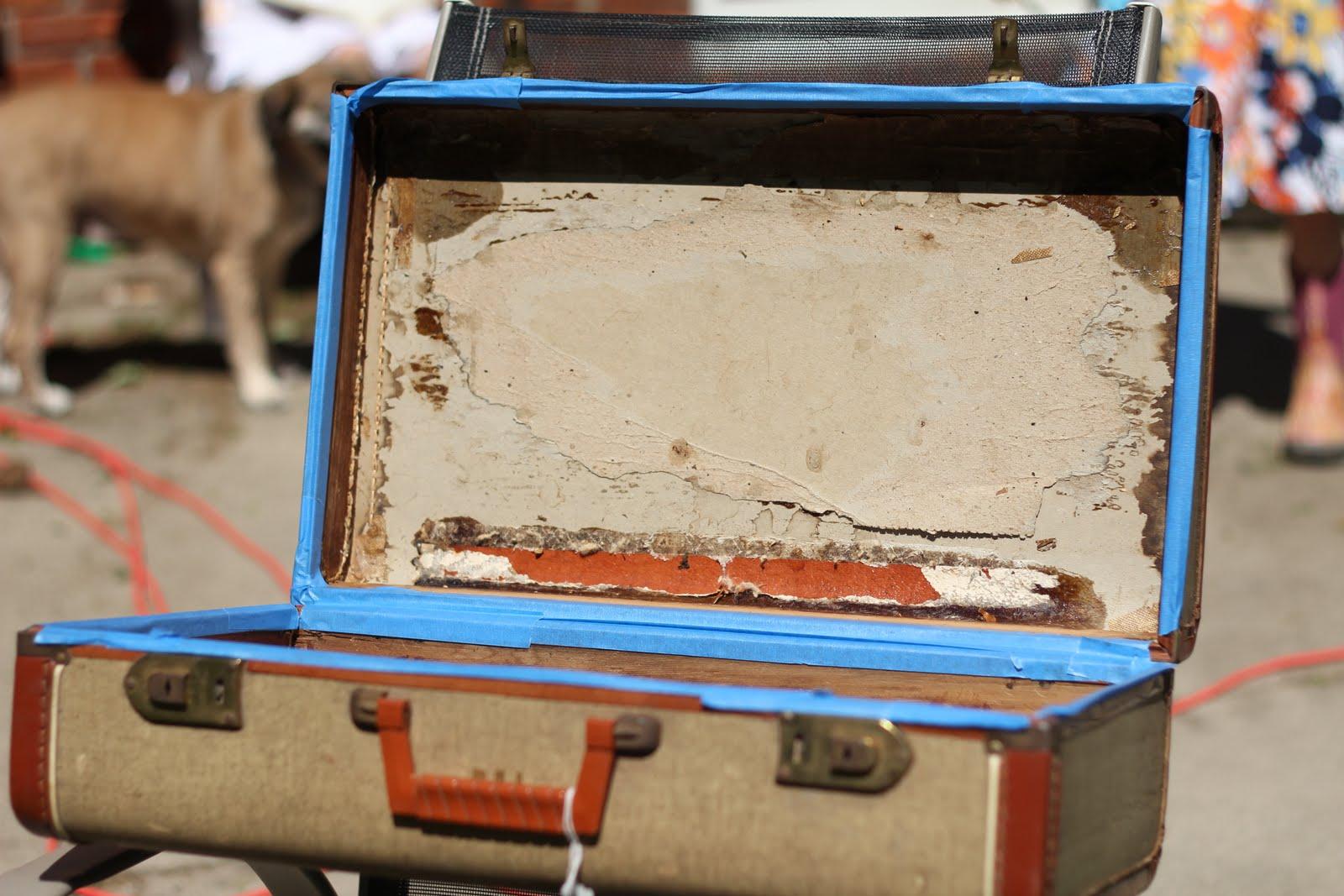старый чемодан реставрация