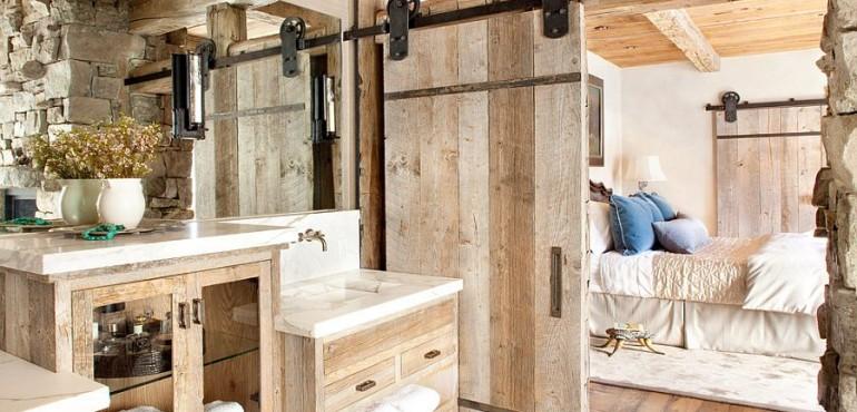 Ванная в сельском стиле: 12 идей