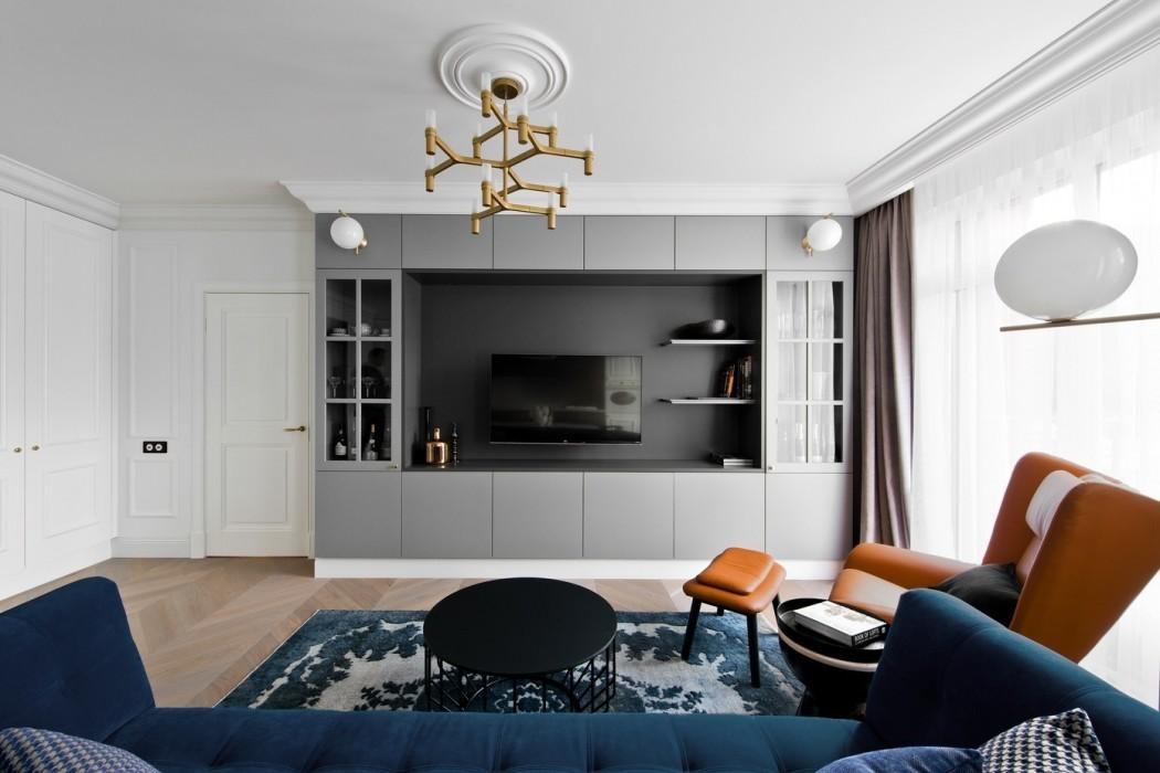 Дизайн двухкомнатной квартиры: идеи + фото