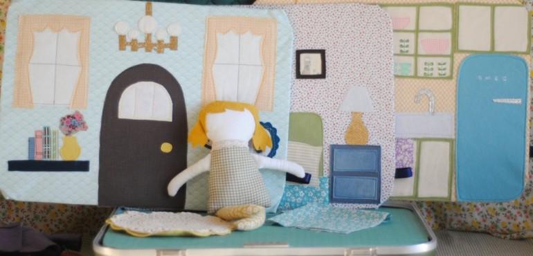 Кукольный домик своими руками: мастер-класс
