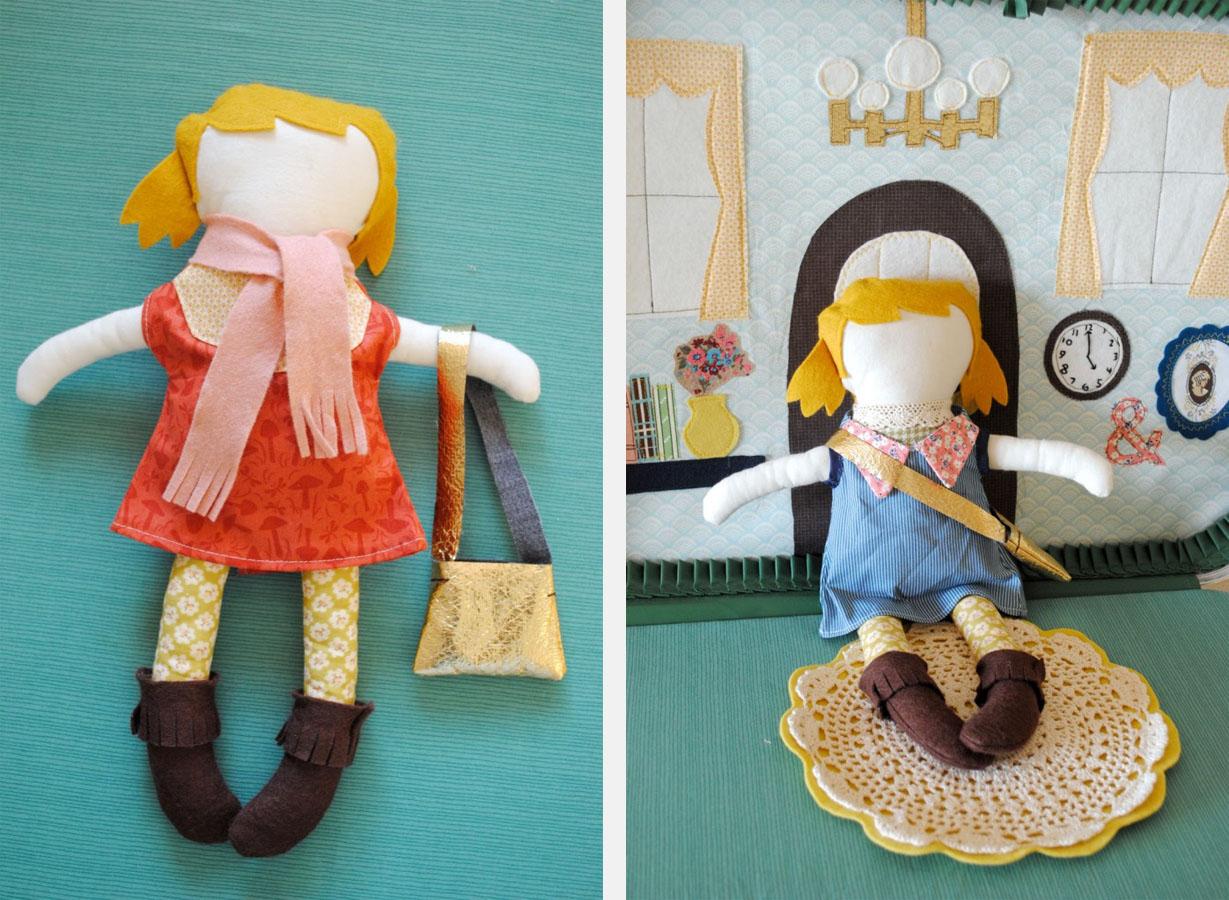 Куклы для дома своими руками мастер класс