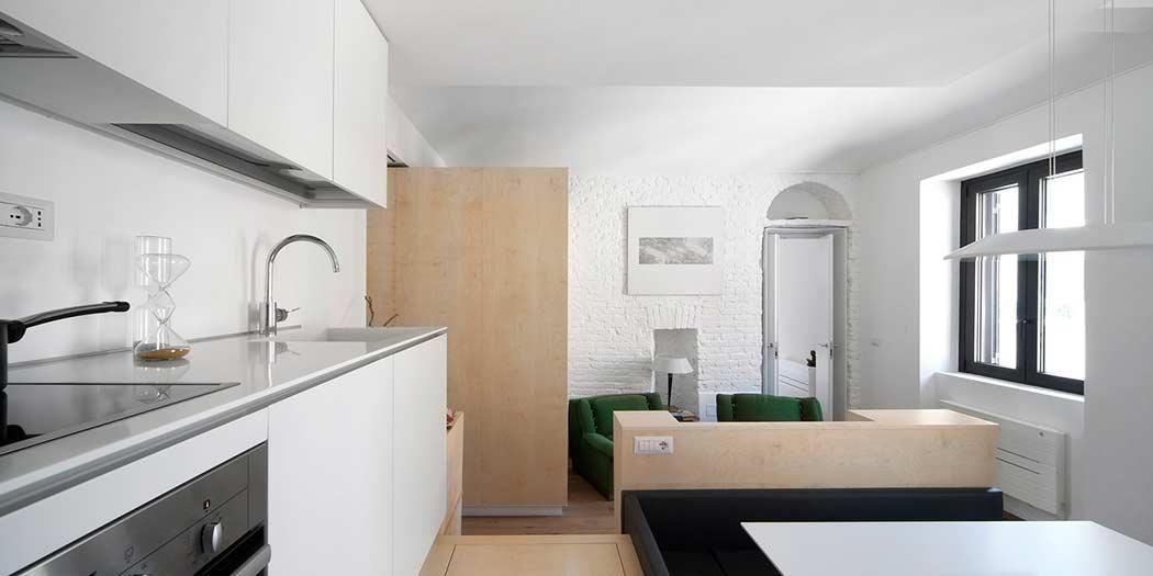 Небольшая квартира-студия из Турина