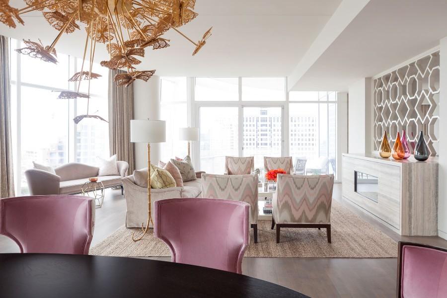 Красивый интерьер от Laura Lee Clark Interior Design
