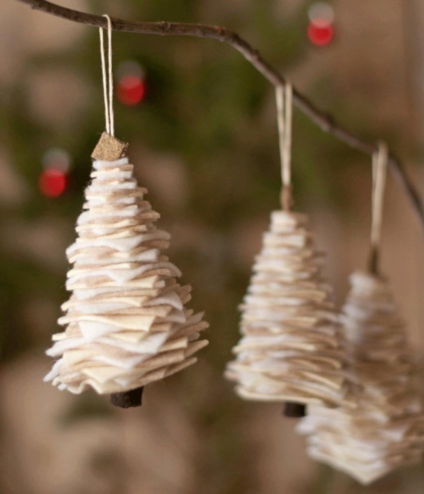 Как сделать новогодние украшения в домашних условиях