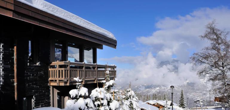 Роскошное шале в Альпах