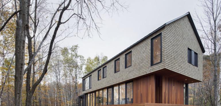 Стильный дом от Bourgeois/Lechasseur Architects