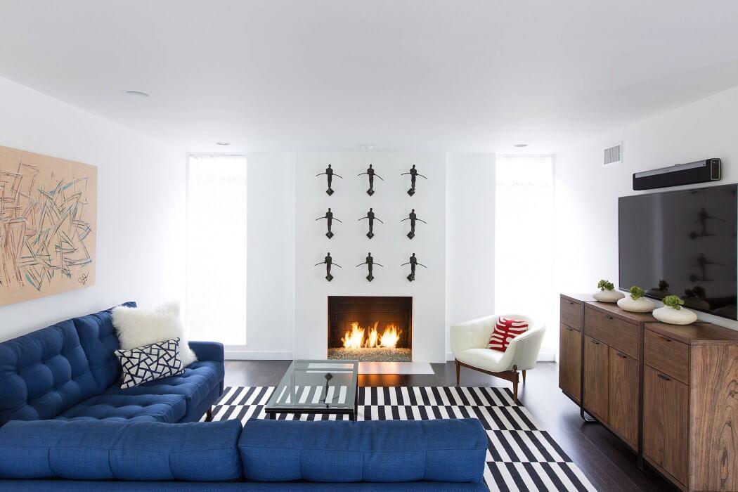 Свежий и современный дизайн интерьера из Лос-Анджелеса