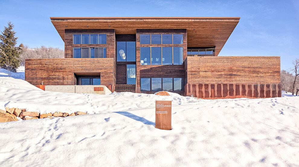Деревянный дом от Park City Design Build