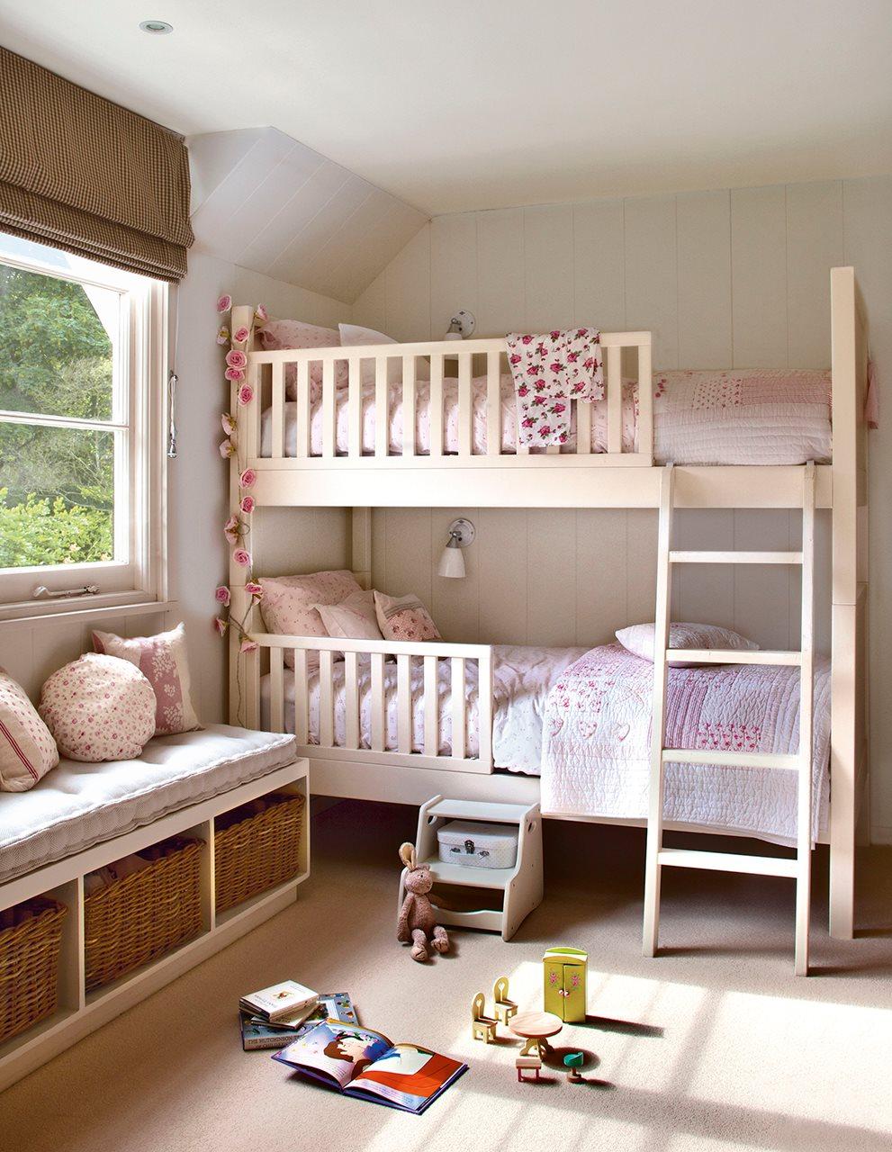 Детской комнаты для двух детей фото