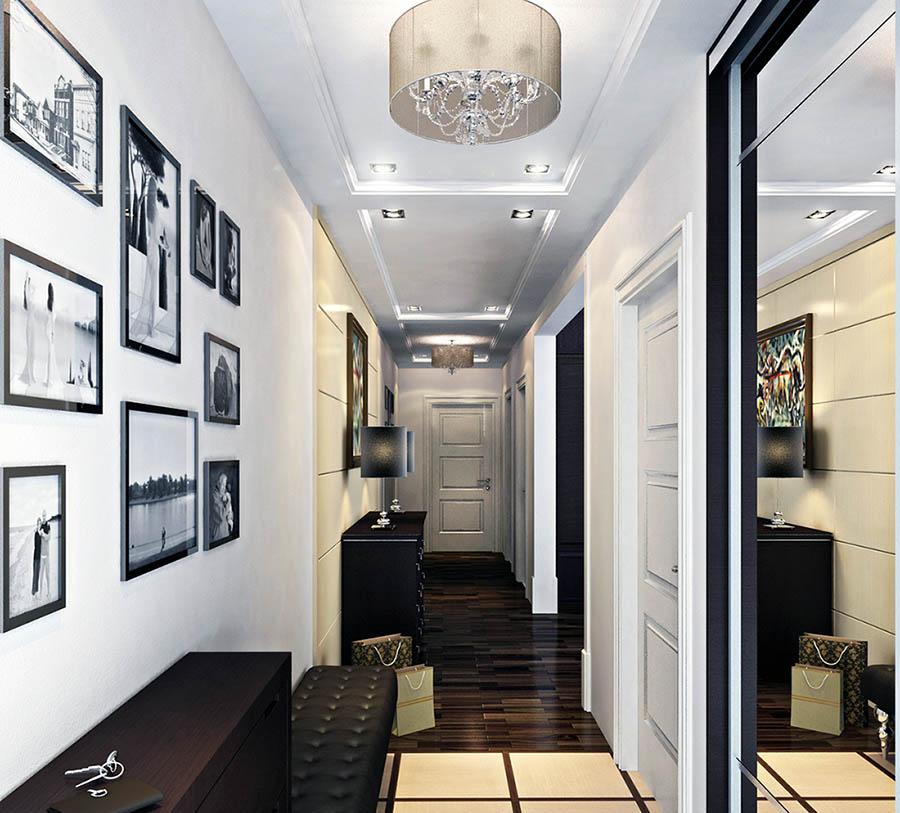Дизайн коридора: 15 идей