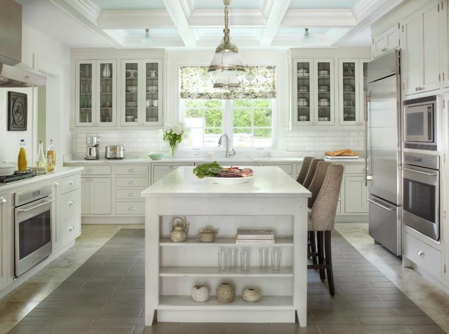 Дизайн кухні в приватному будинку: 14 фото-ідей
