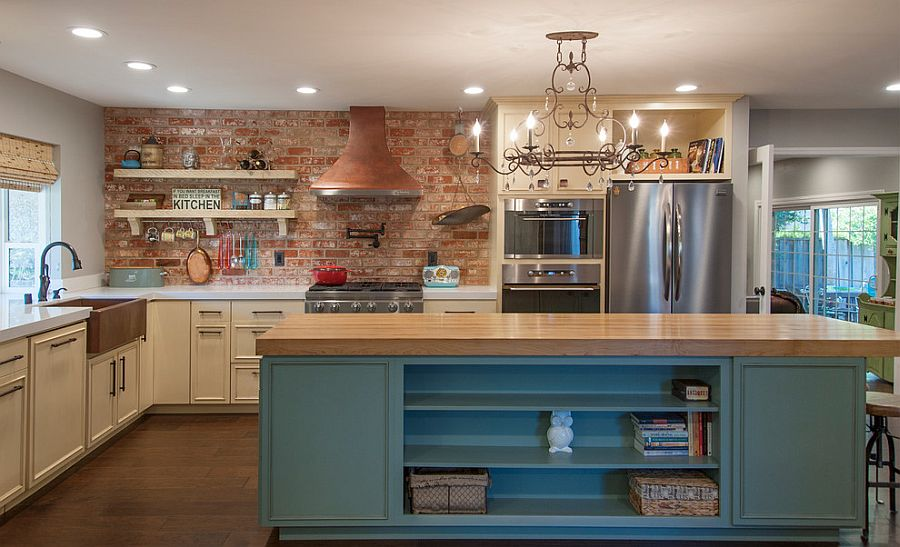 интерьеры кухонь