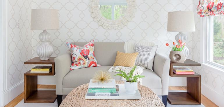 Дизайн маленькой гостиной: 16 идей