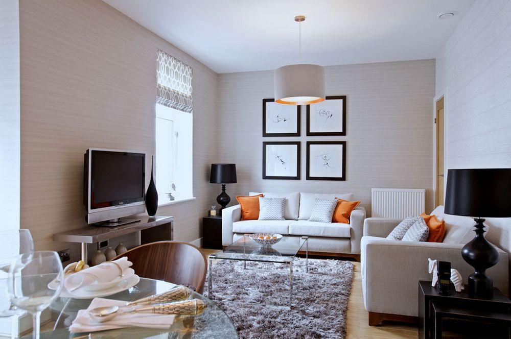 дизайн маленької вітальні