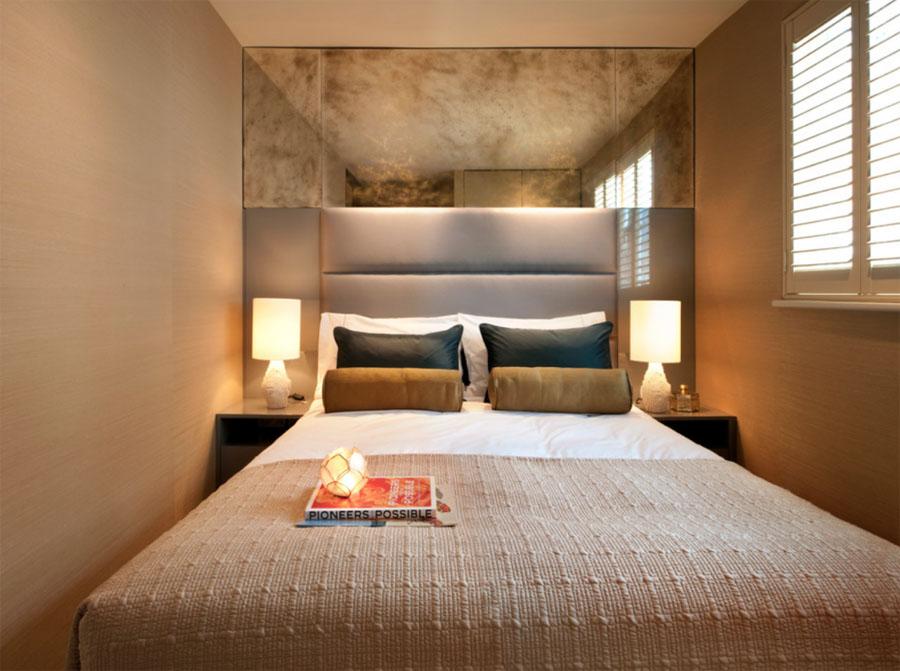 Дизайн спальной маленькой комнаты