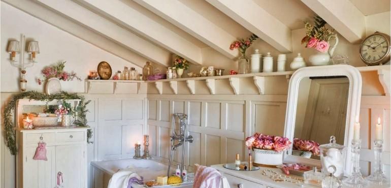 13 красивых и романтичных ванных комнат