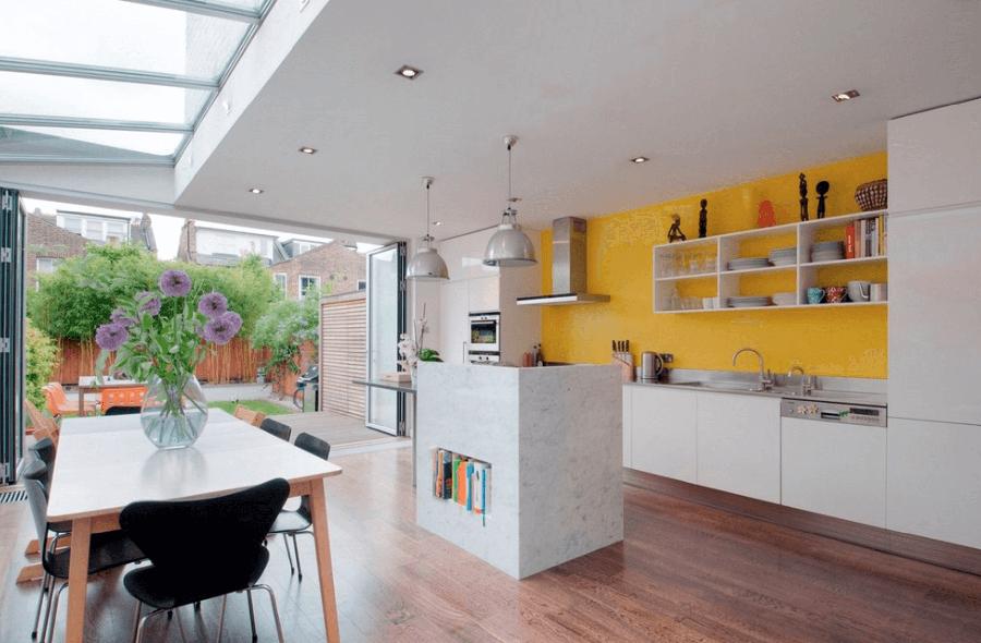 дизайн кухні столової