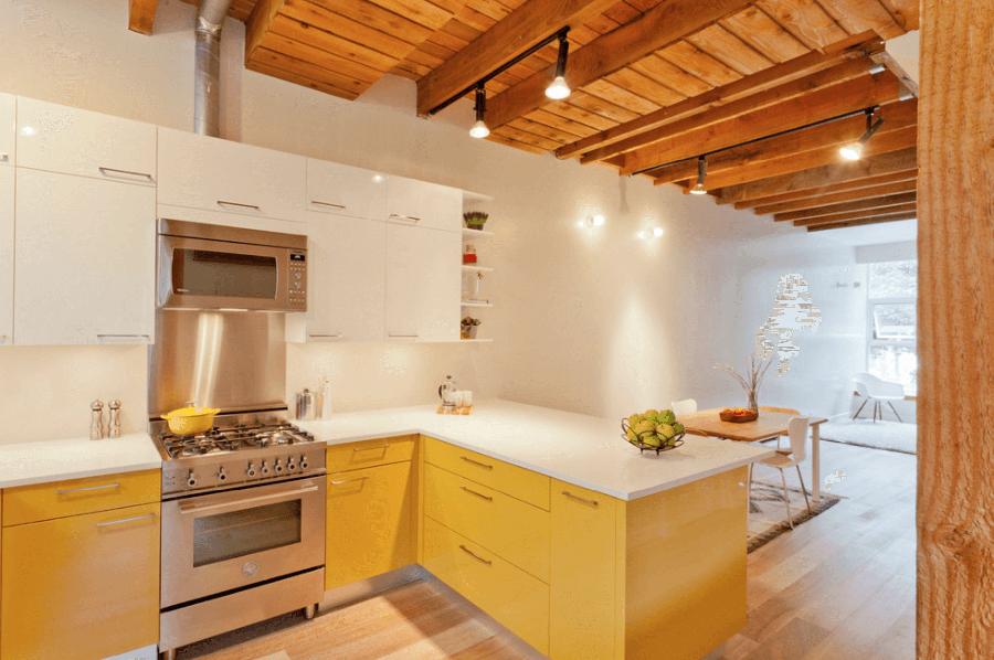 дизайн кухні-їдальні