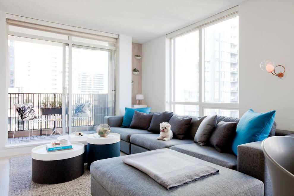 Дизайн квартири-студії: ідеї + фото