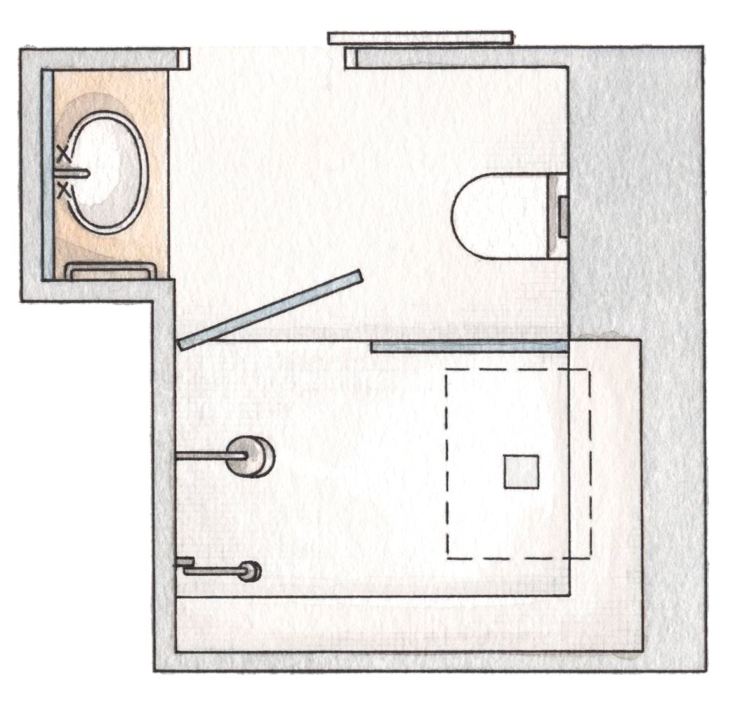 проекты ванных комнат