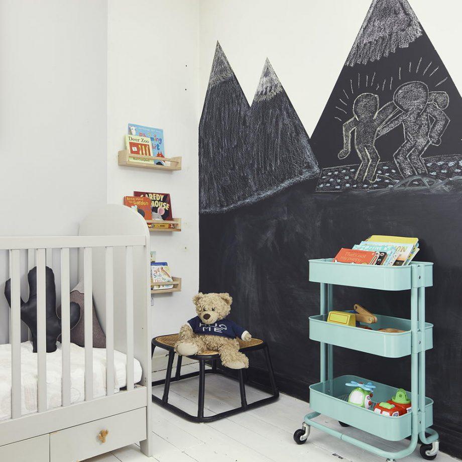 Комната для новорожденного в скандинавском стиле