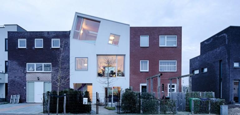 Необычный дом художника от Marc Koehler Architects