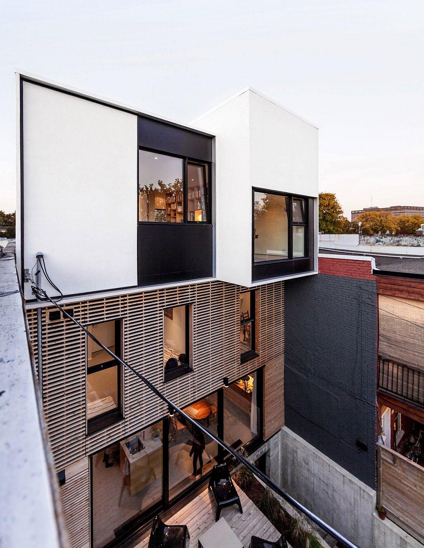 Обновленный современный дом из Монреаля