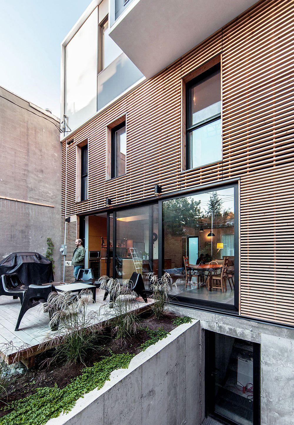 современный дом фасад