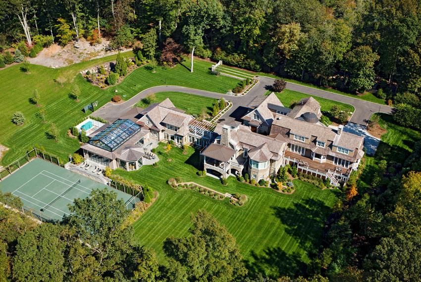 Огромный роскошный дом от Peter Cadoux Architects