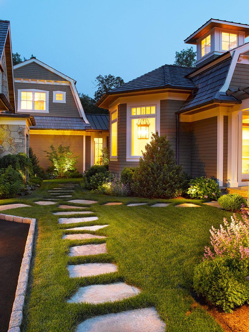 красивые дома фото особняков