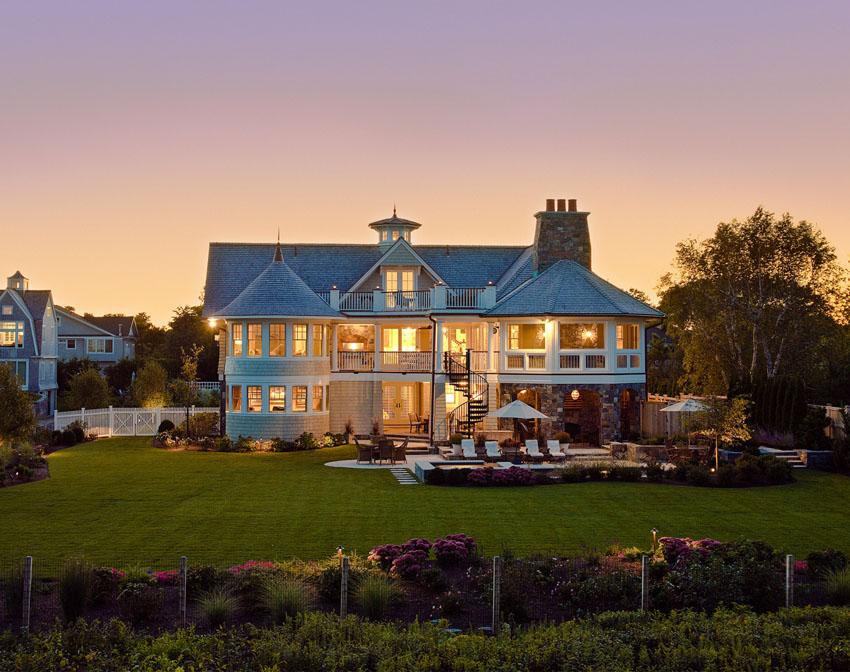 Шикарный дом на острове Лонг-Айленд