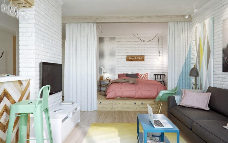 Уютная квартира (45 кв. м): советы по оформлению