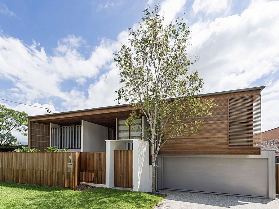 Деревянный дом со светлым интерьером из Австралии