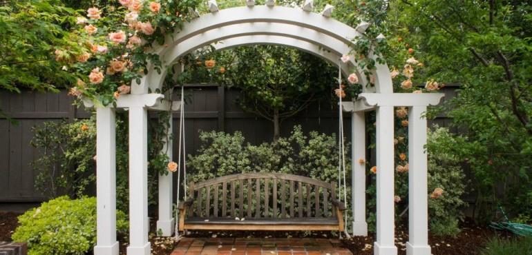 Красивый ландшафтный дизайн садового участка