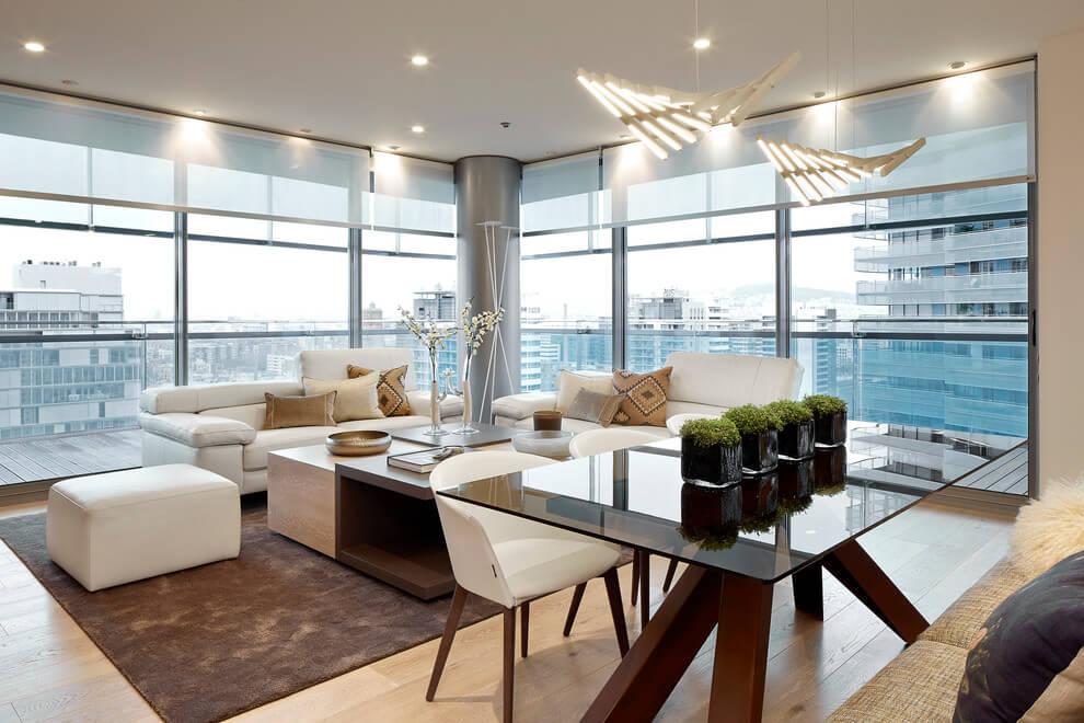 Квартира-студия со светлым интерьером из Барселоны