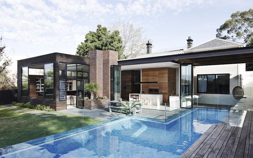 Реконструкция старого дома из Австралии