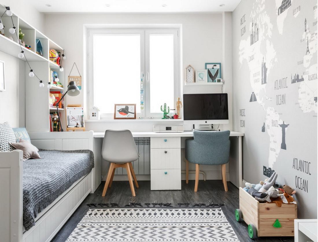 Дизайн 2-х комнатной квартиры в панельном доме