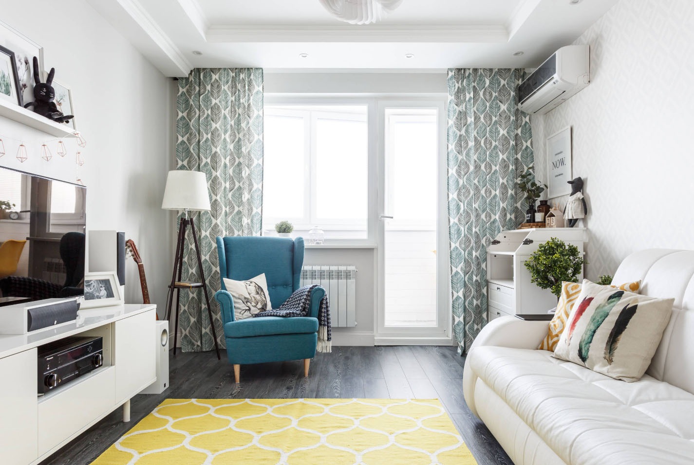дизайн 2 х комнатной квартиры в панельном доме