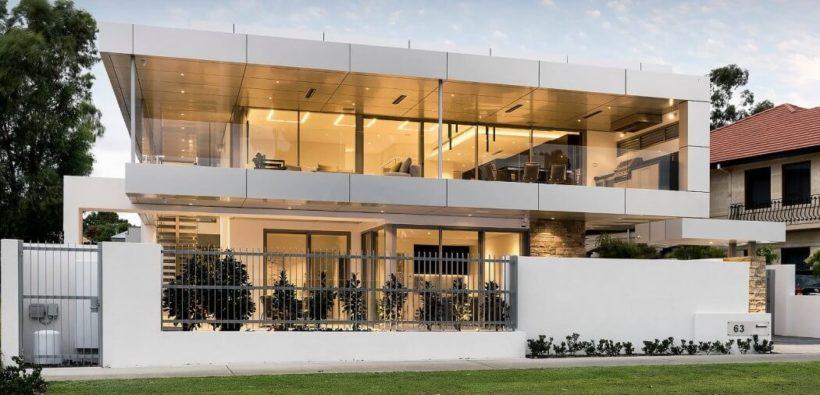 Большой дом в стиле минимализм из Австралии
