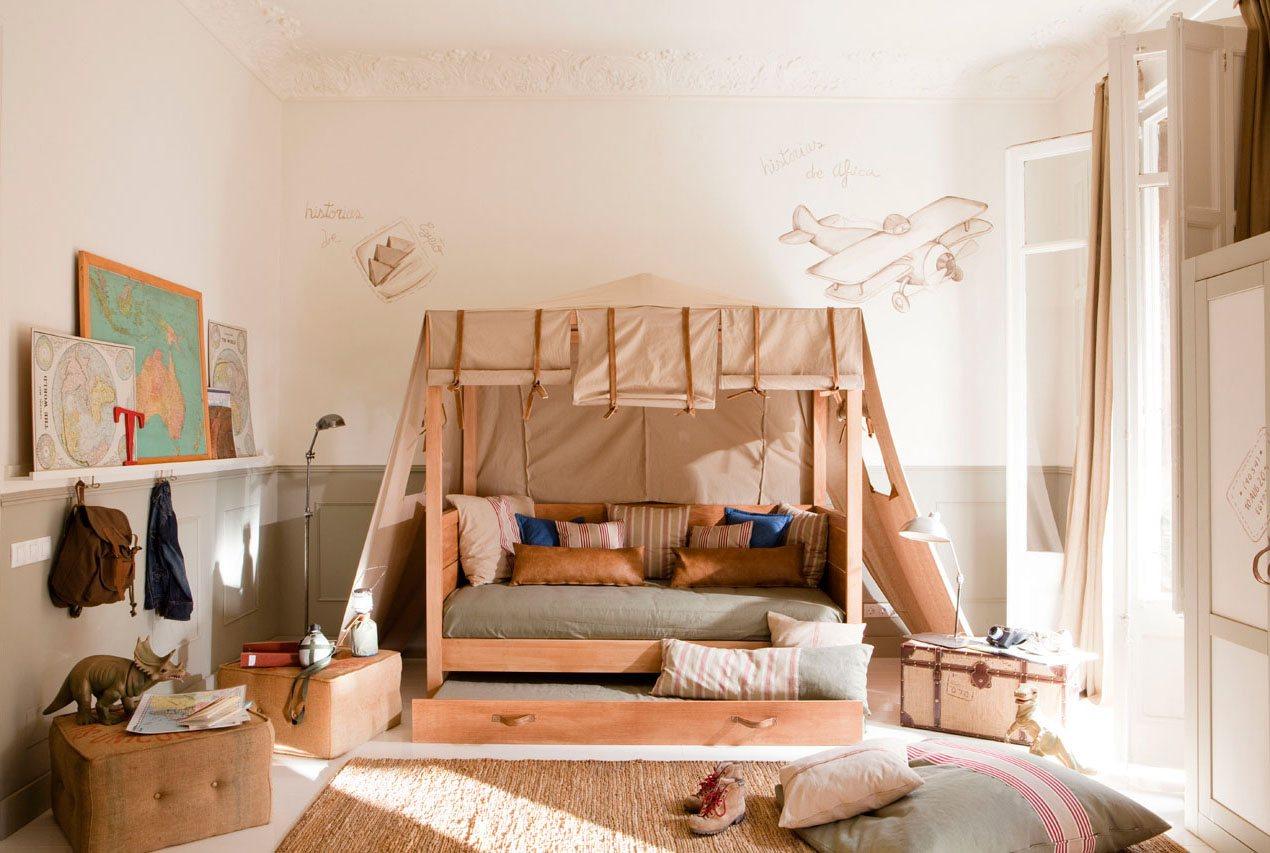 Дитяча кімната для хлопчика: 16 стильних ідей