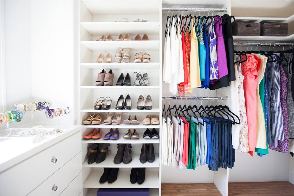 Дизайн гардеробной комнаты: 14 готовых идей