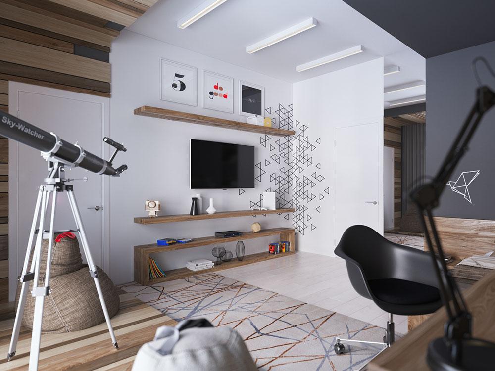 красивые комнаты для мальчиков