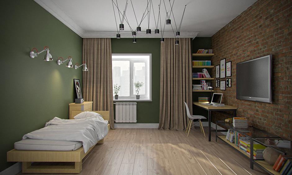 дизайн комнаты подростка в американском стиле