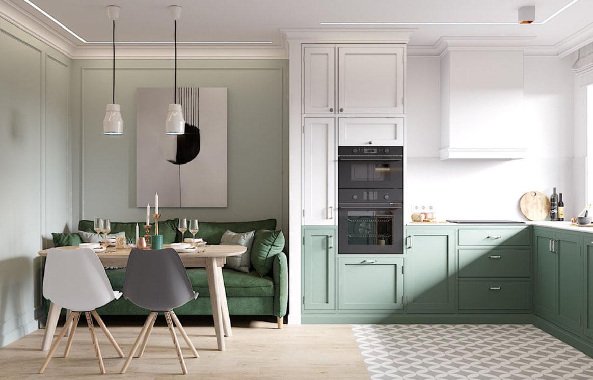Дизайн кухни-гостиной: 16 кв. м - готовые решения