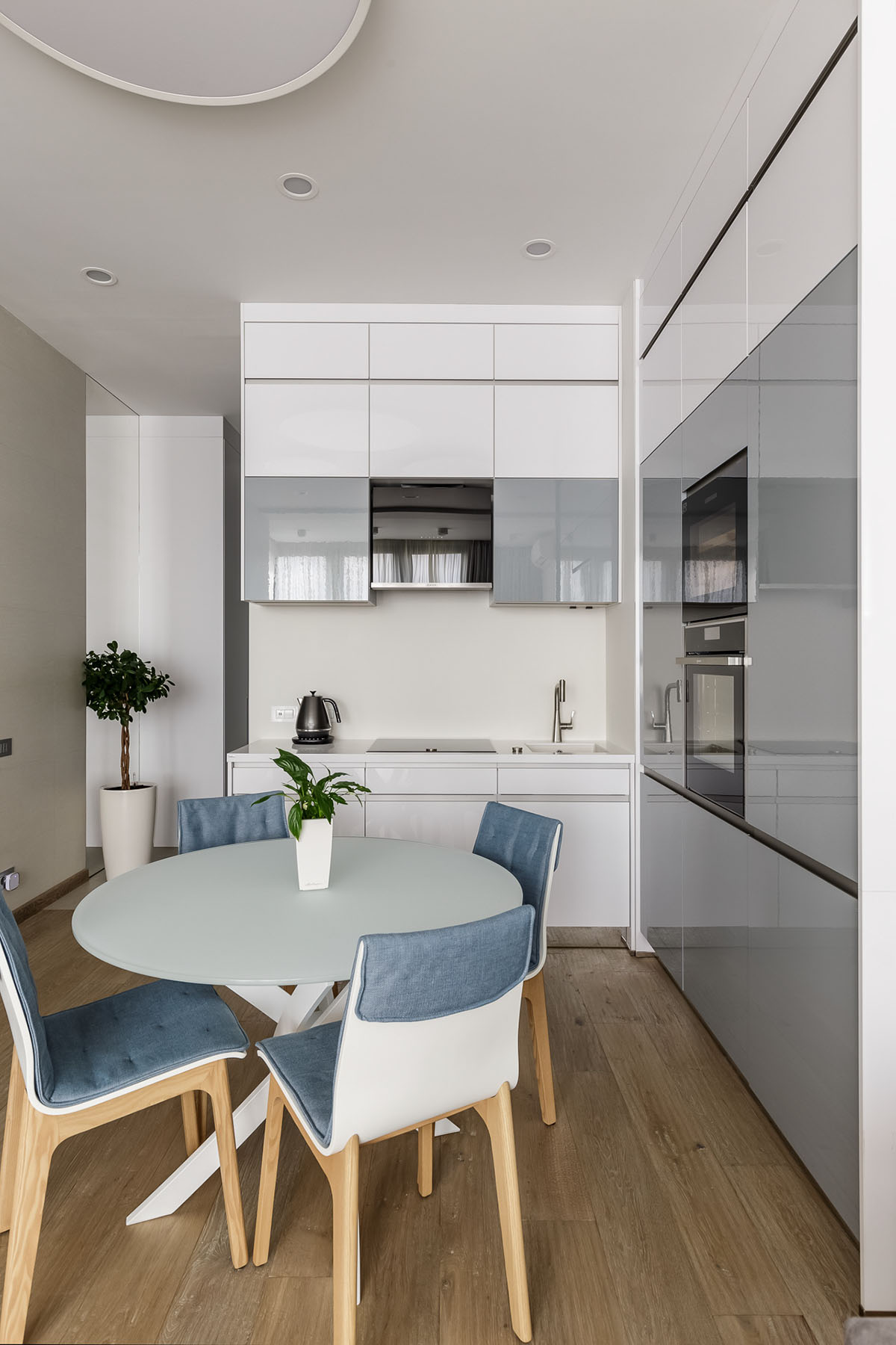 дизайн кухни гостинной в доме