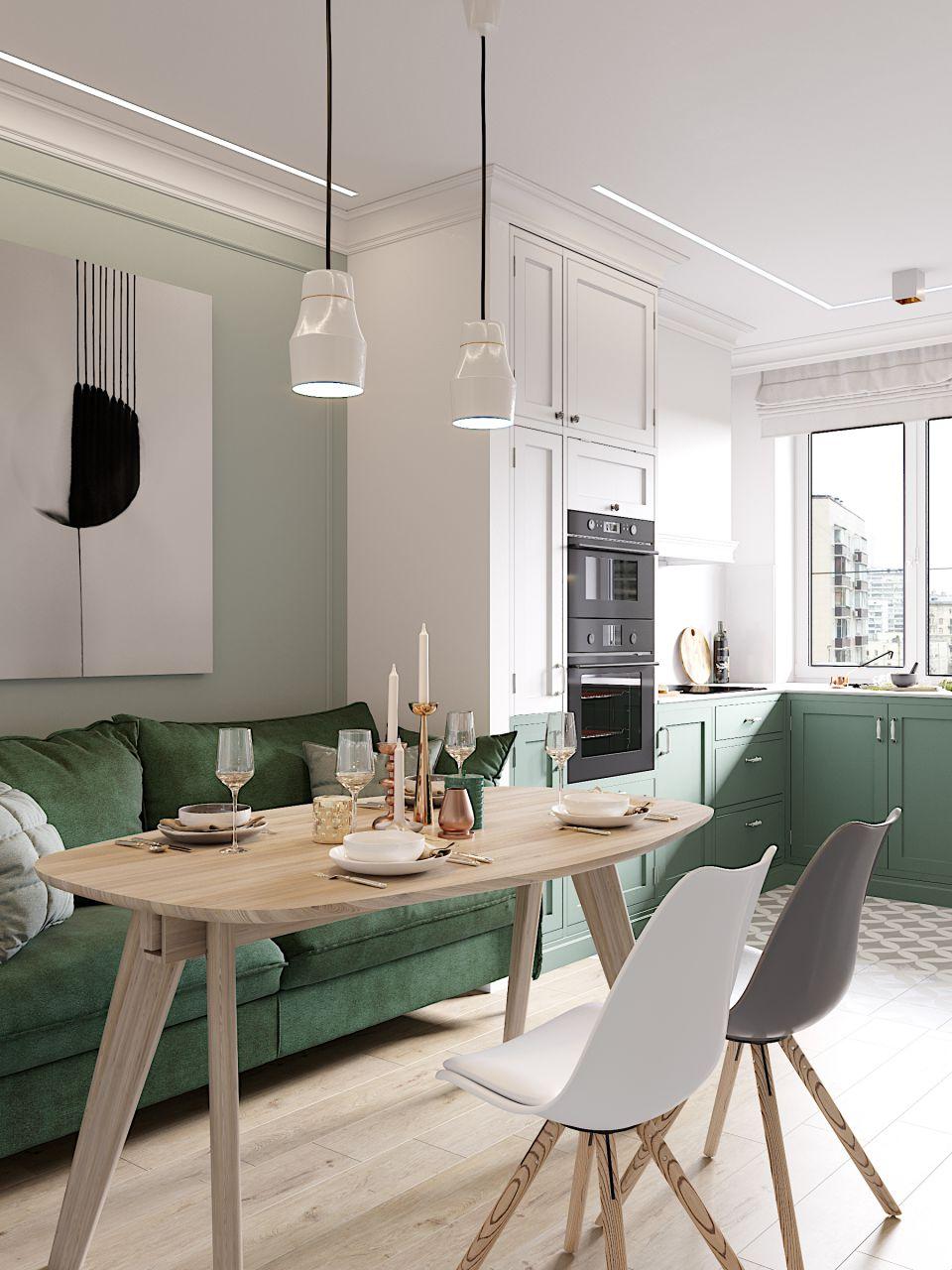дизайн кухни 16 кв м
