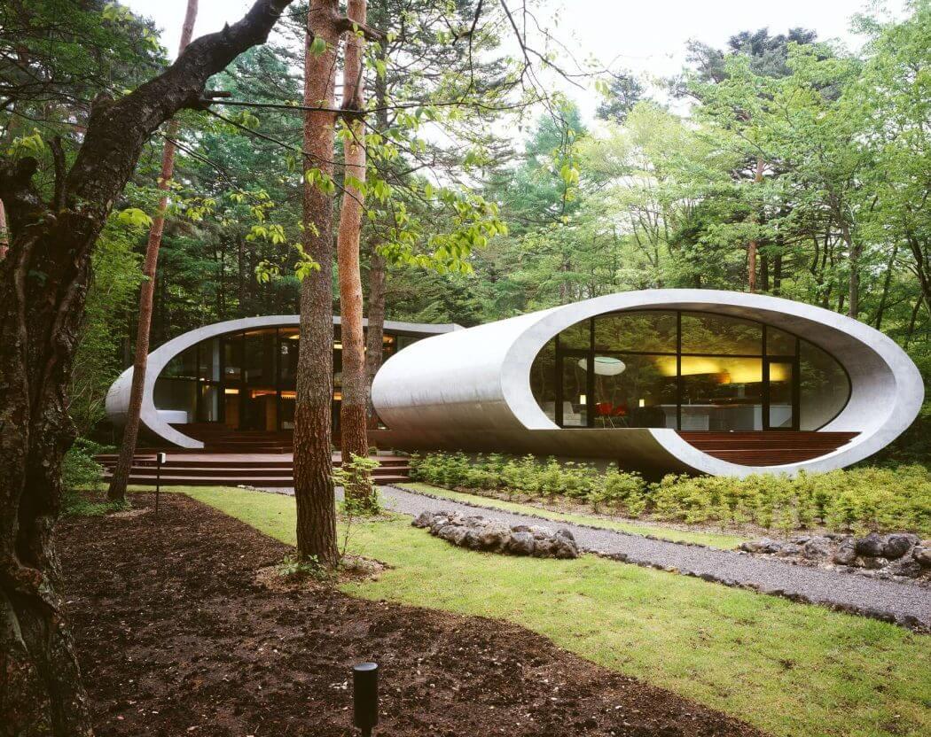 Футуристичный дом из Японии от ARTechnic