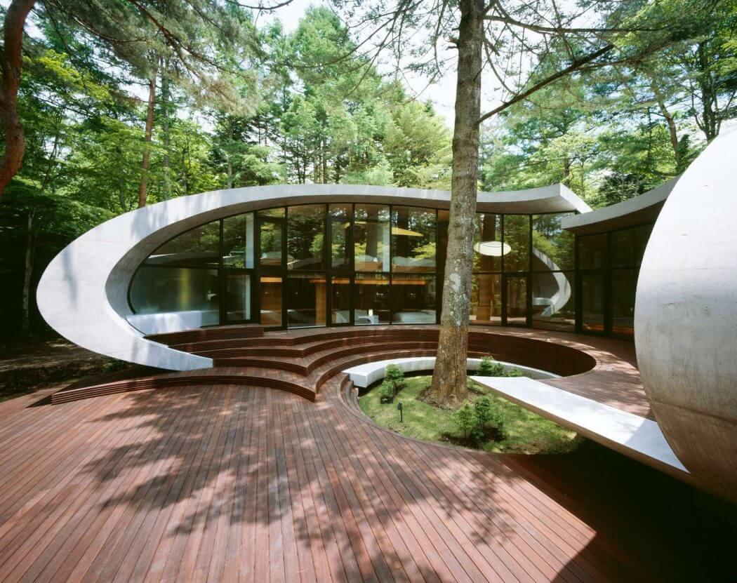 футуристические дома