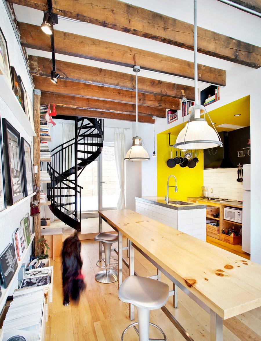 Креативный дизайн маленького дома